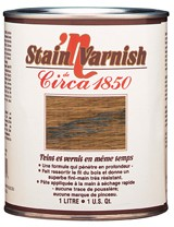 Circa 1850<br>Stain&#x0027;n Varnish