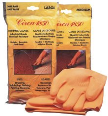Circa 1850<br>Stripping Gloves