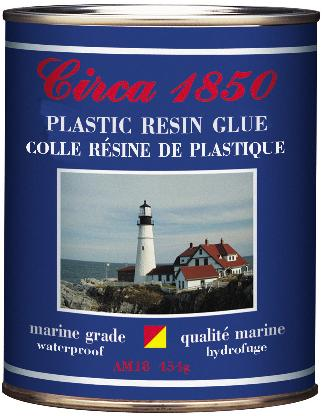Circa 1850<br>Plastic Resin Glue