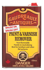 Gaudreault Antiques<br>Brush-On Remover