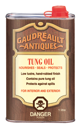 Gaudreault Antiques<br>Tung Oil
