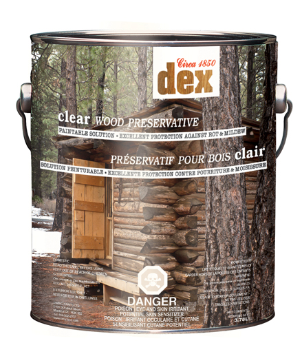 Circa 1850 DEX<br>CLEAR<br>Wood Preservative
