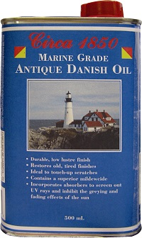 Circa 1850 <br>Marine Grade<br> Antique Oil