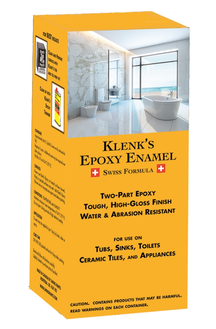 Klenks Epoxy Enamel - Epoxy paint for sinks and tubs